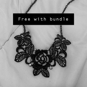 Free with bundle necklace